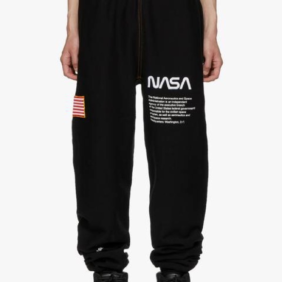 differently top-rated cheap outlet for sale Heron Preston Black fleece sweatpants Boutique